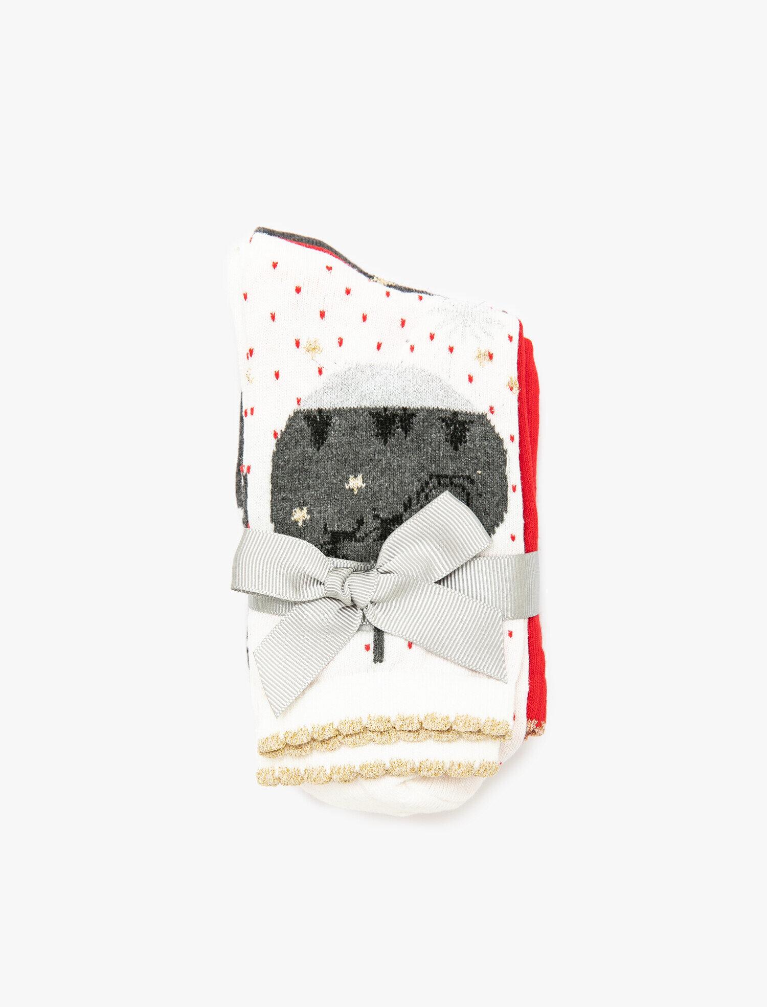 Kadın Yeni Yıl Temalı Çorap