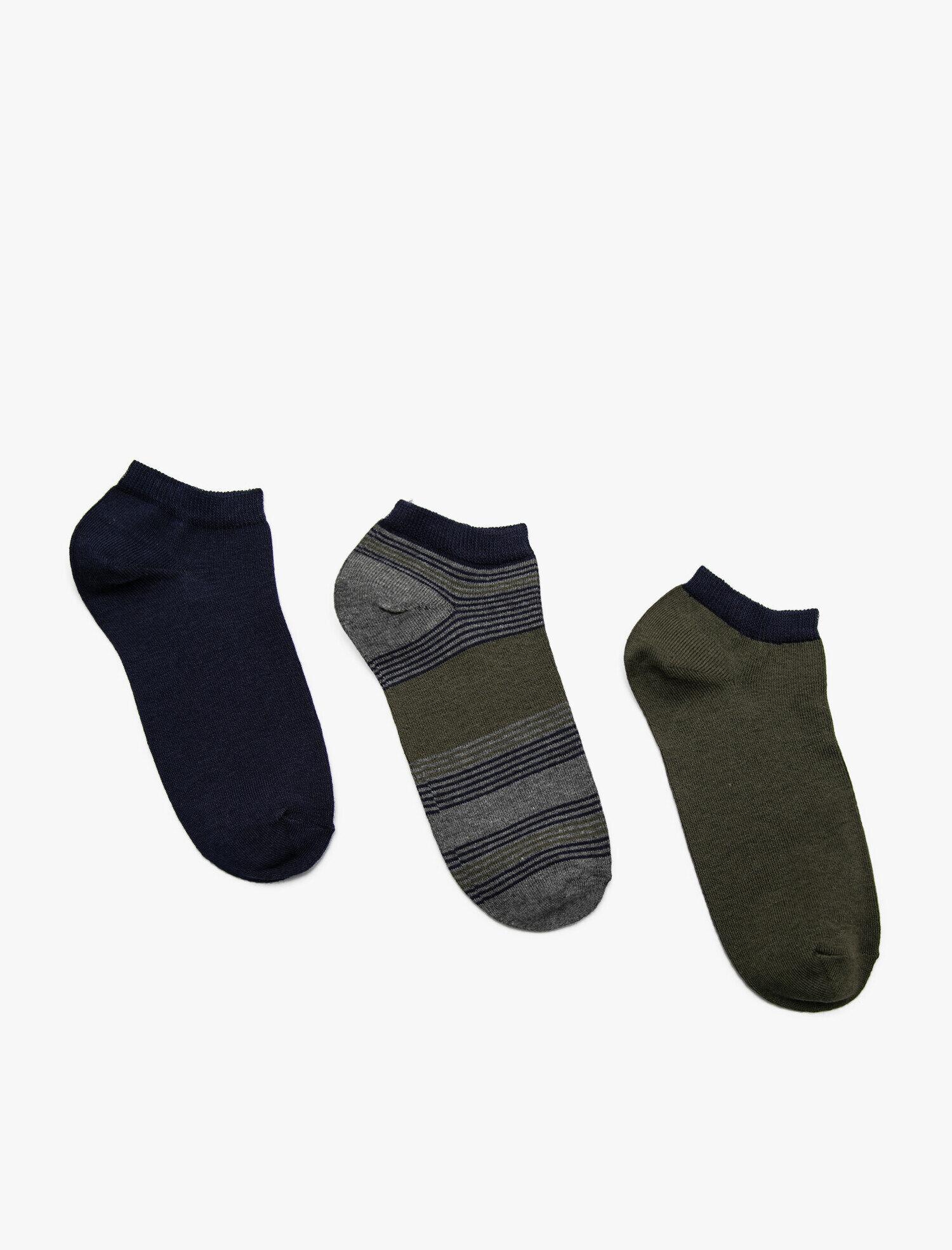 3 Pack Man Socks