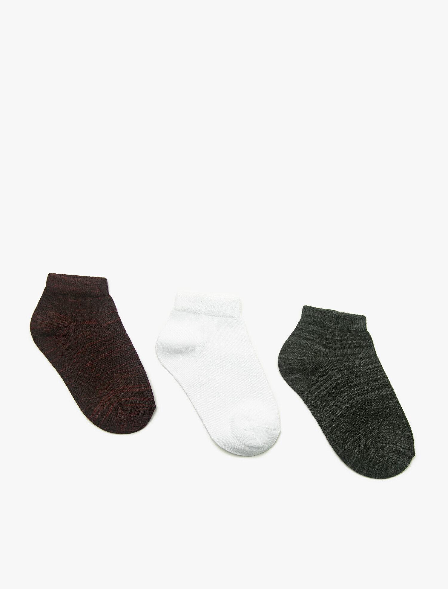 3'lü Erkek Çocuk Çorap