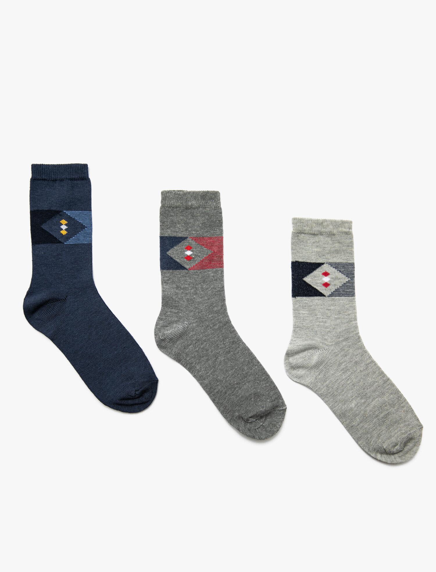 3' lü Erkek Çocuk Çorap