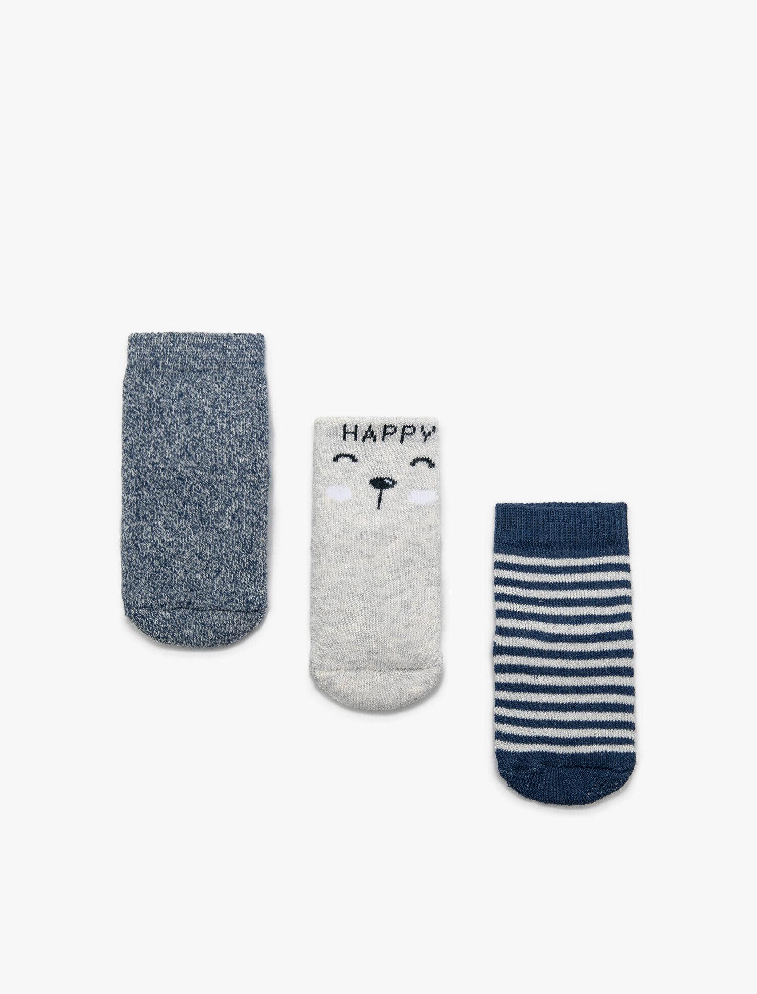 Baby Boy 3 Pack Socks