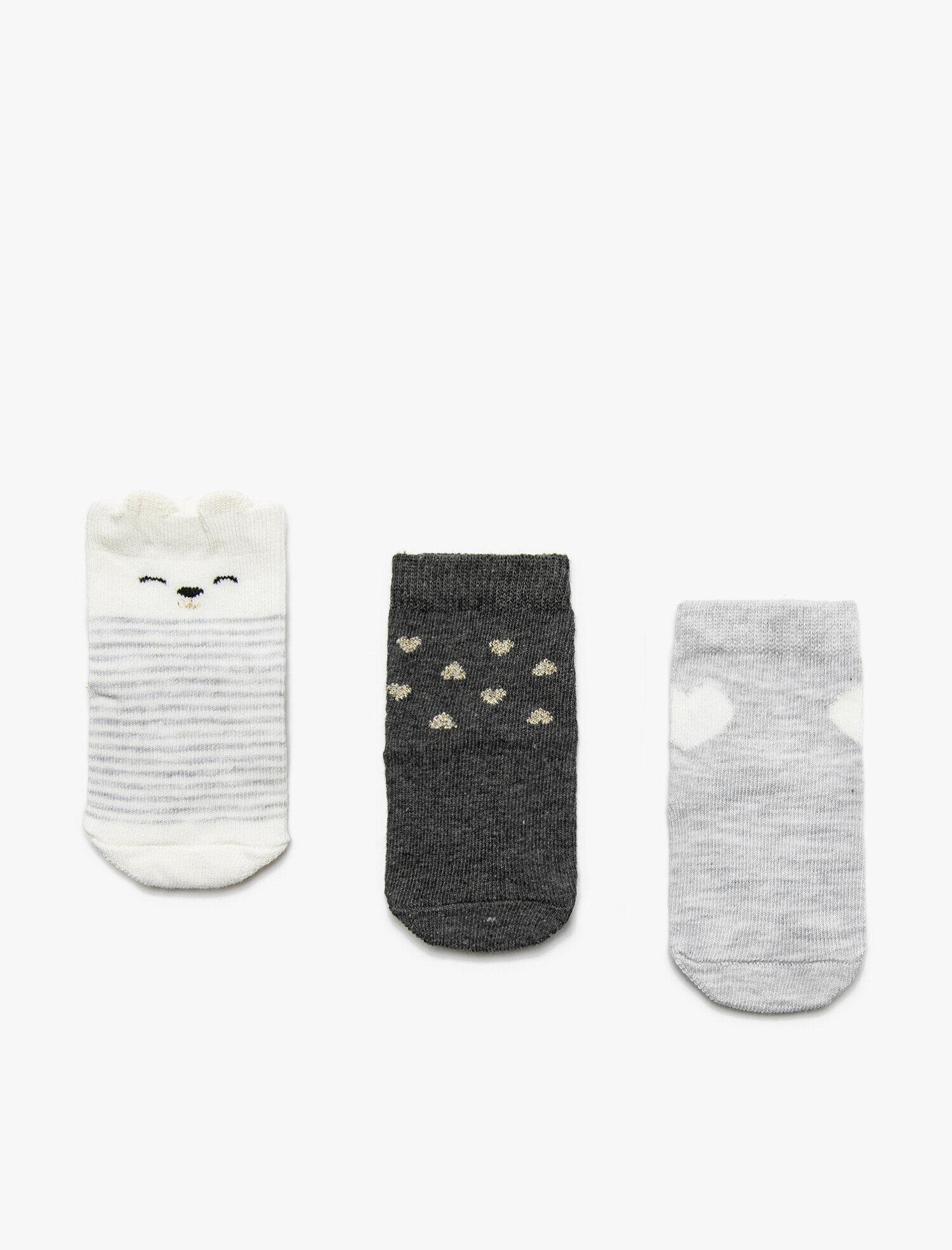 Baby Girl 3 Pack Socks