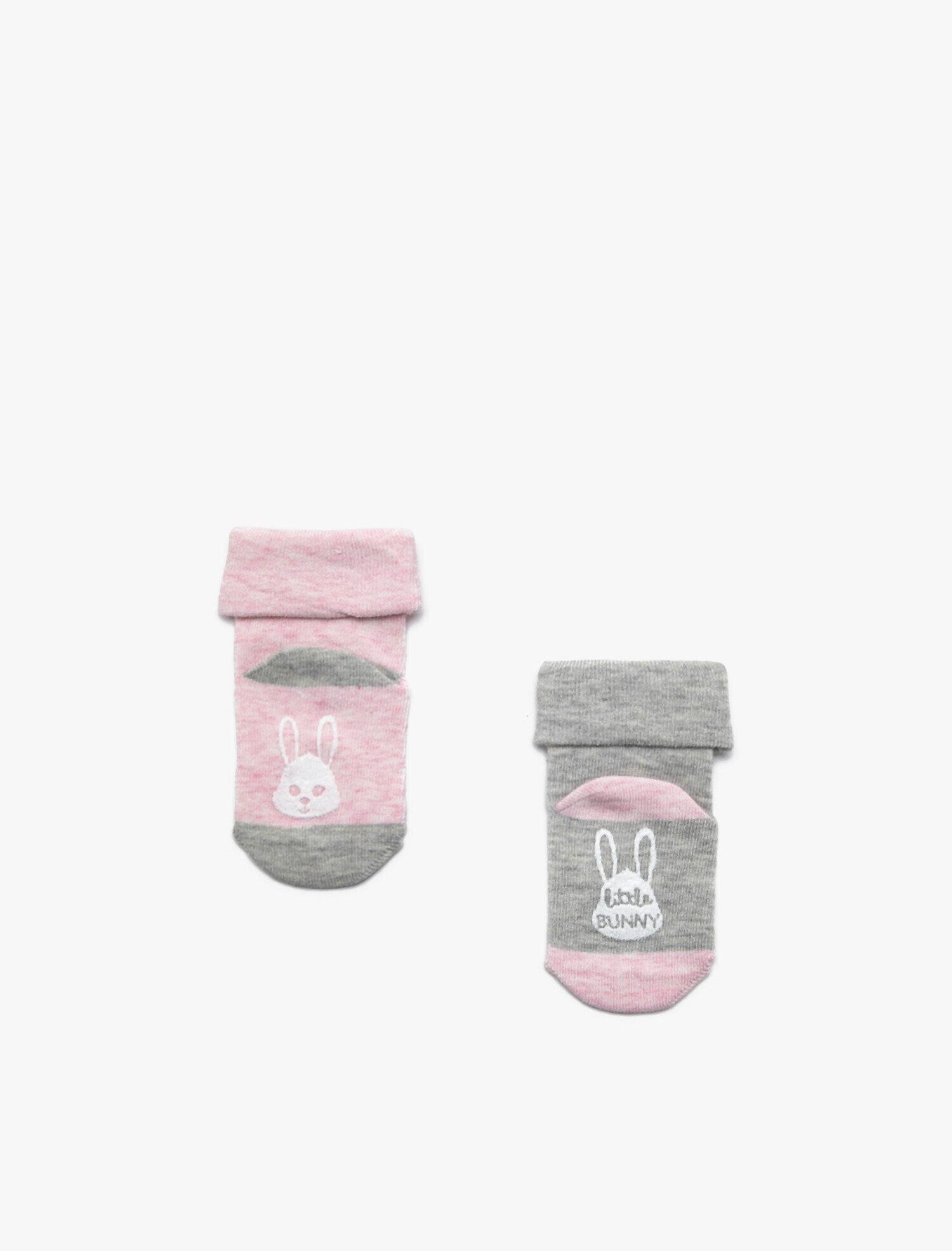Kız Bebek 2'li Çorap