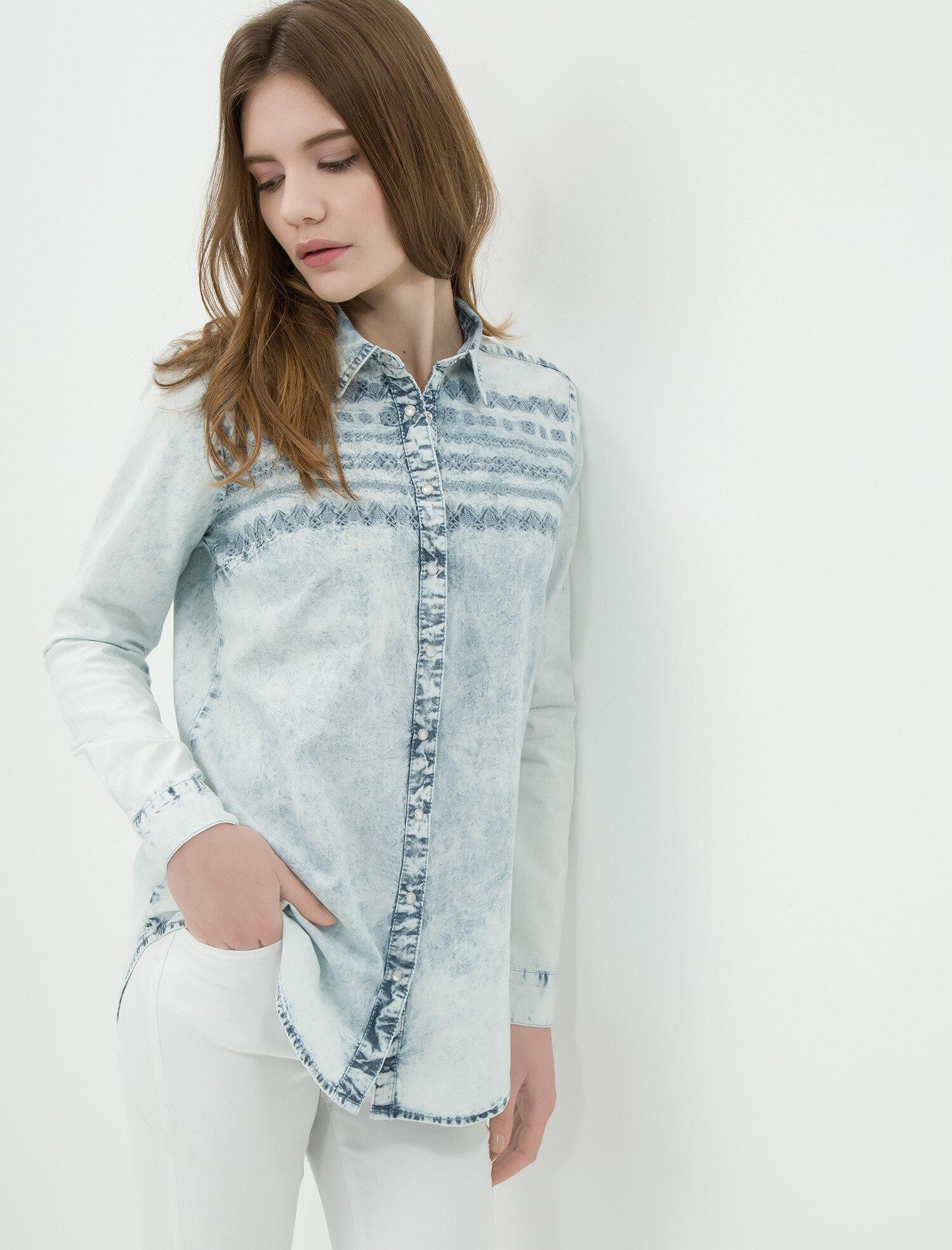 a61129f4ff5bf Jean Shirt Dress Long Sleeve - raveitsafe