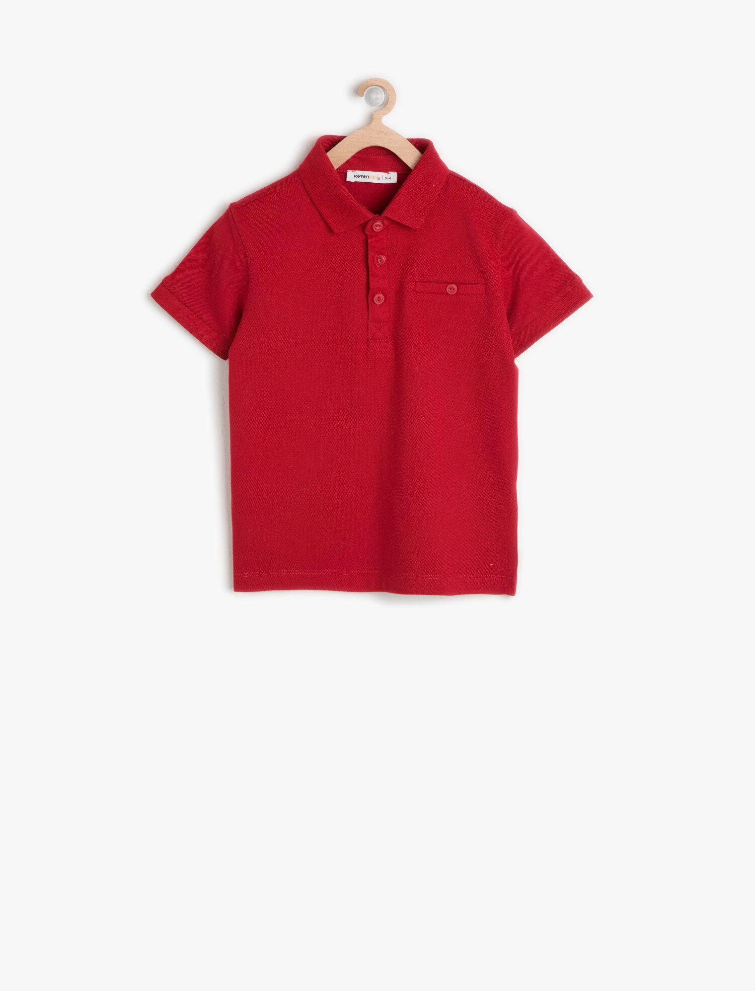 63a0000a0 Plain Red T Shirt Baby - DREAMWORKS