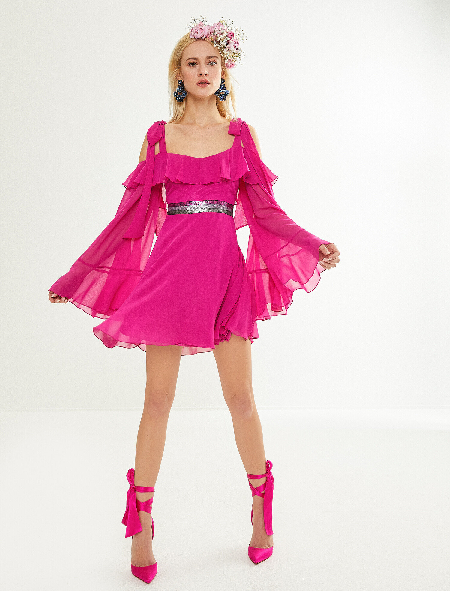 1e31c1cdd585e Pembe Bayan Zeynep Tosun For Koton Elbise 8YAK84083ZW909 | Koton