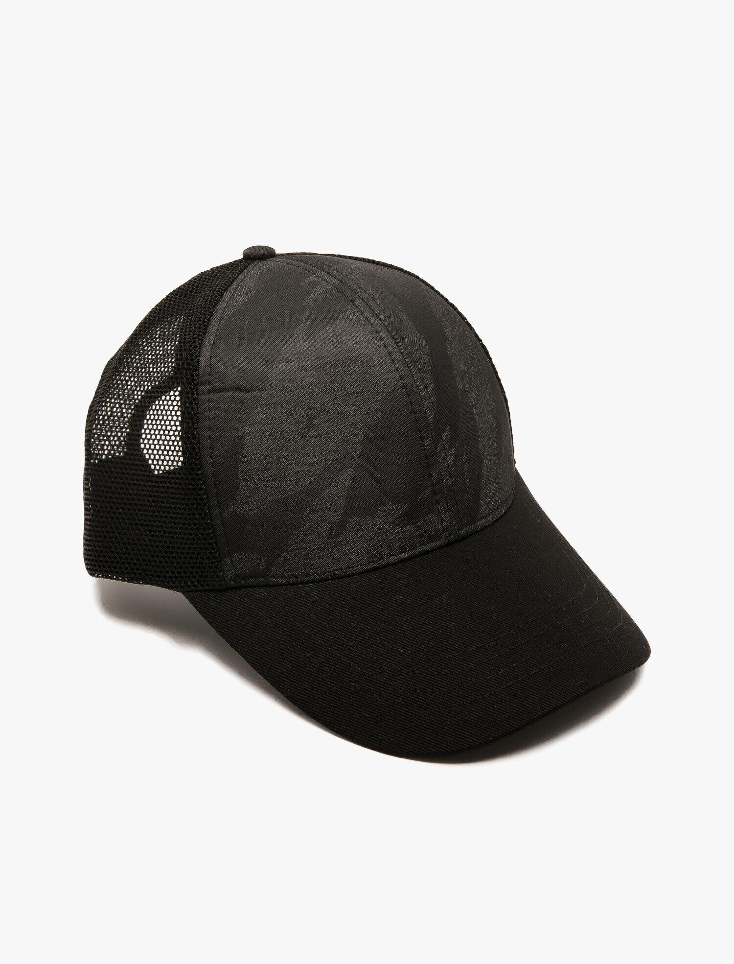 Mesh Detailed Hat