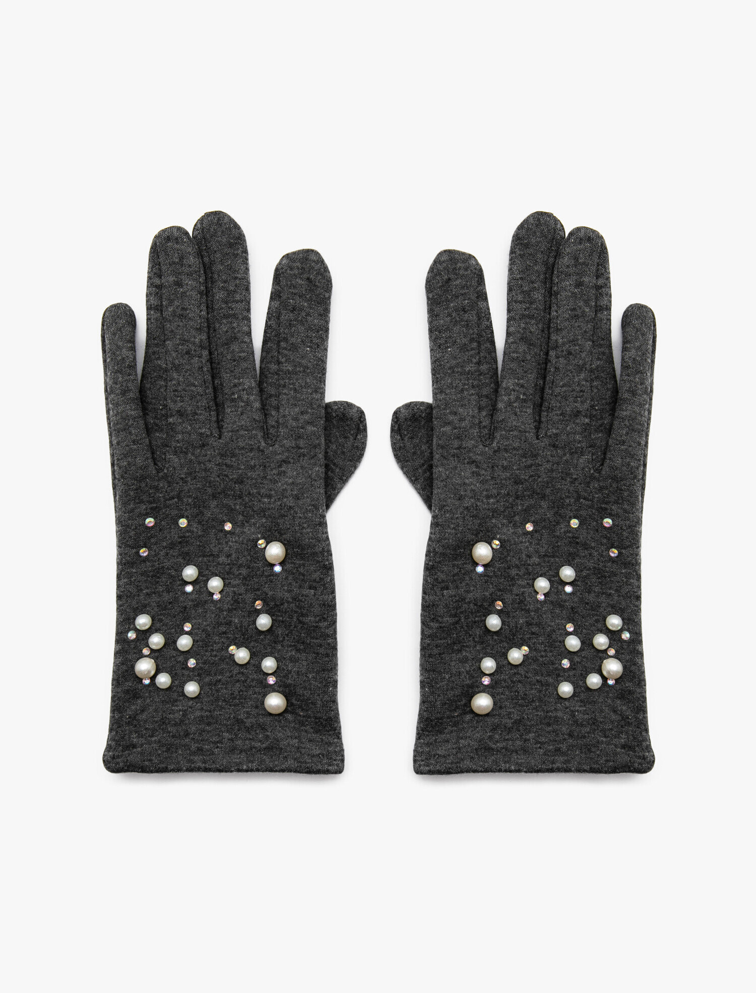 Pearl Detailed Gloves