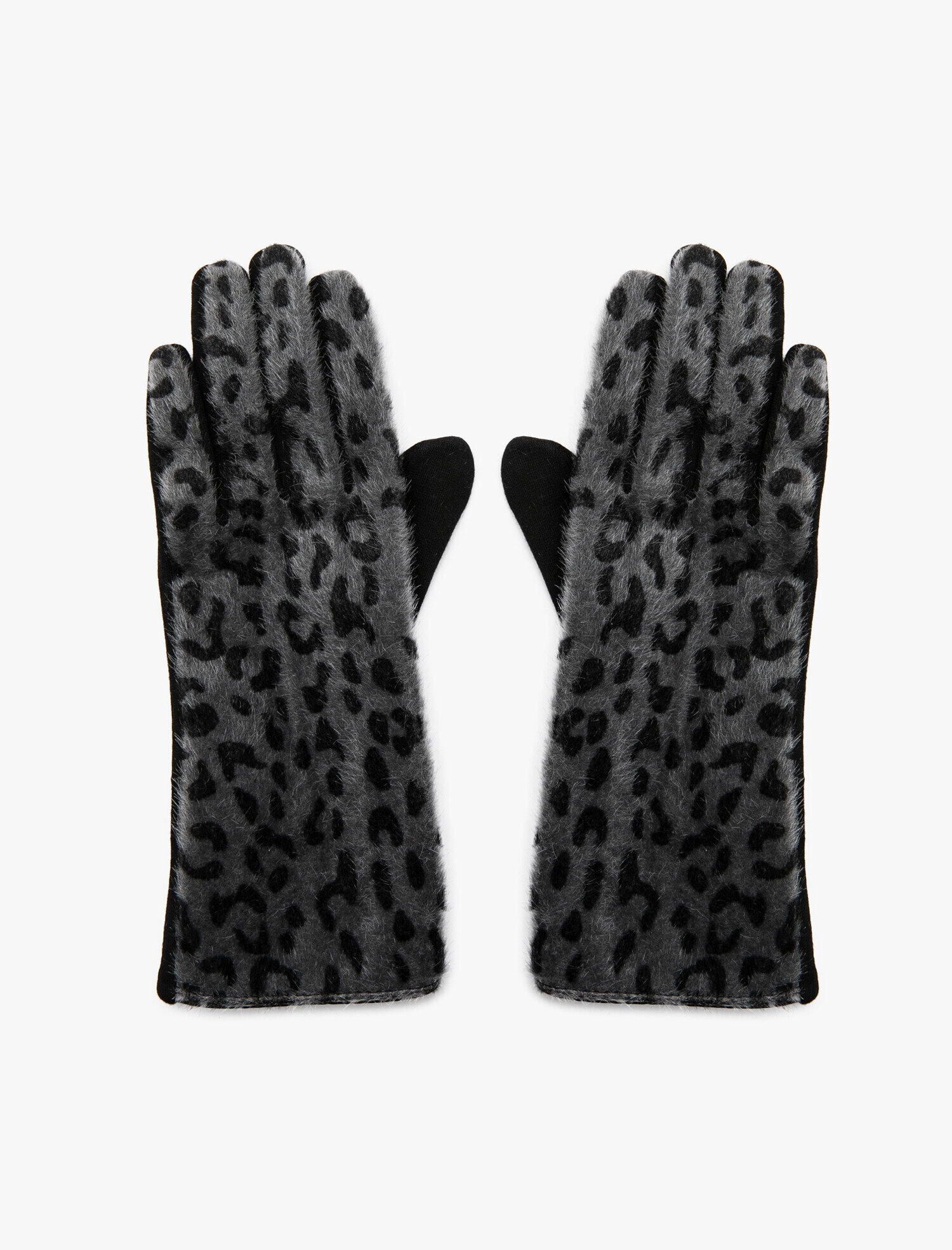 Leopard Patterned Gloves