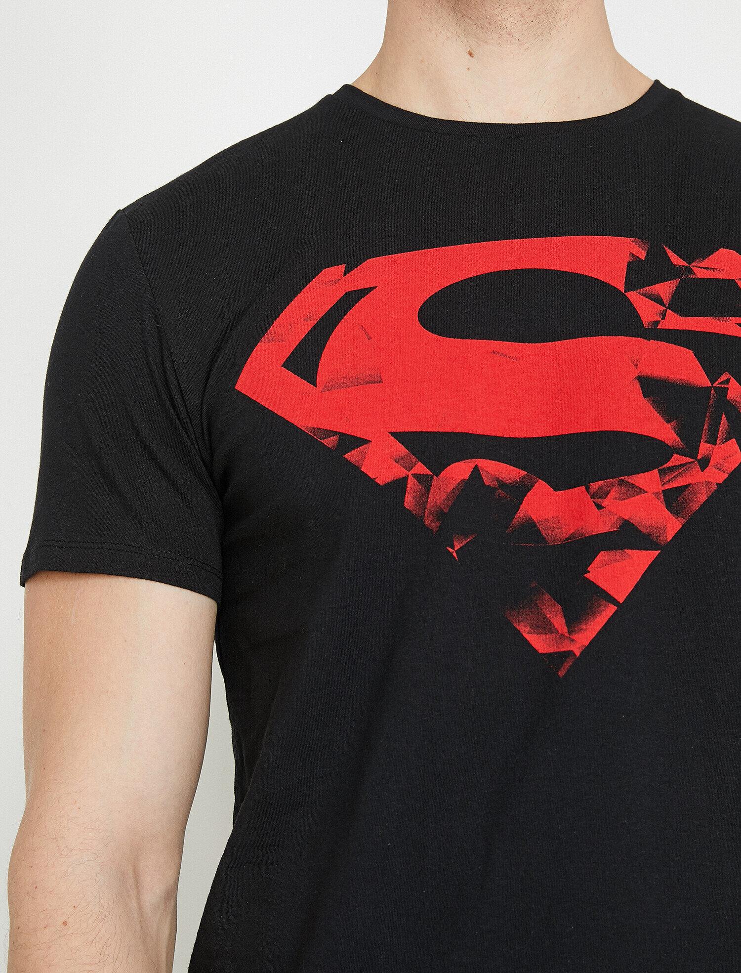 superman t shirt koton