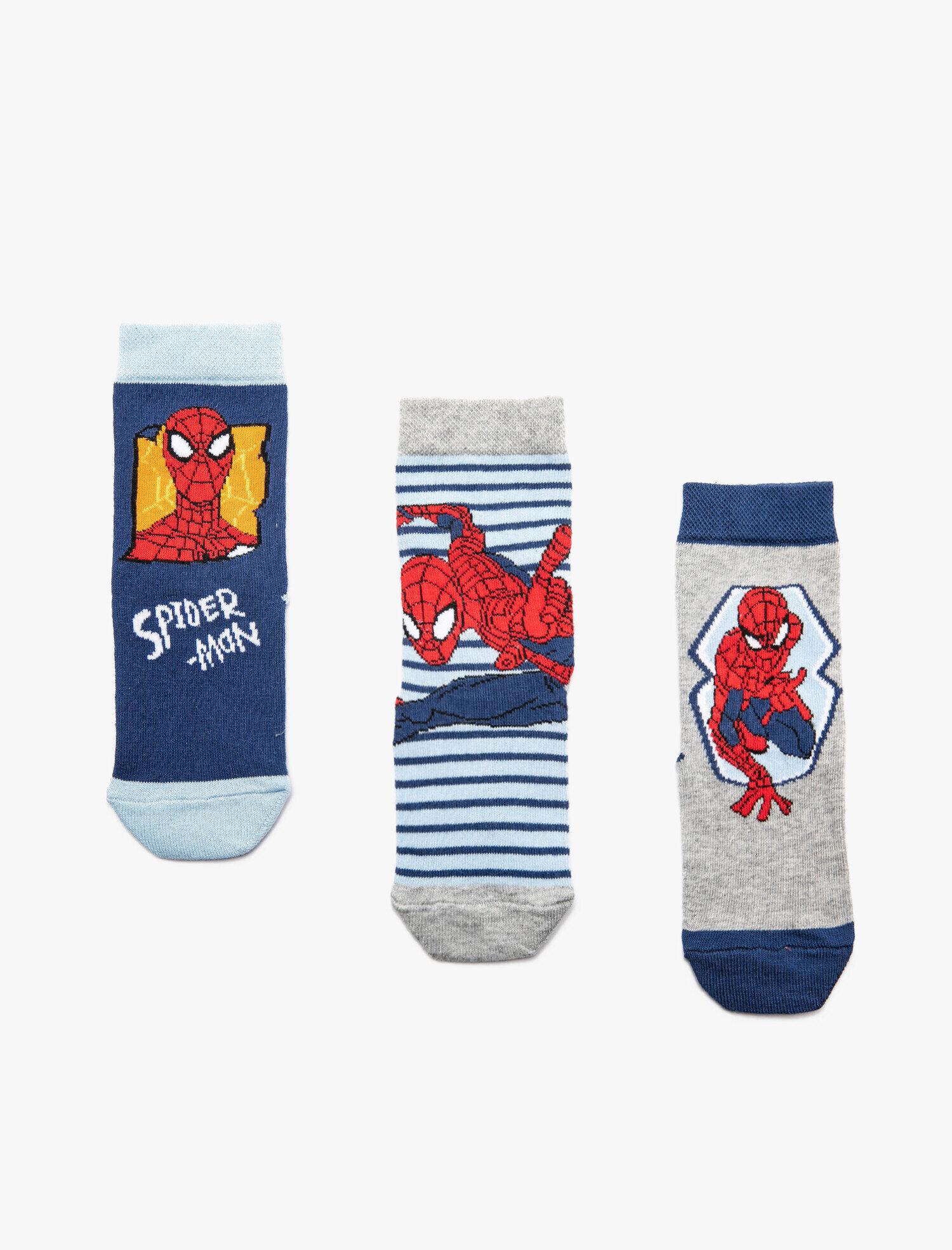 Spiderman Baskılı Çorap