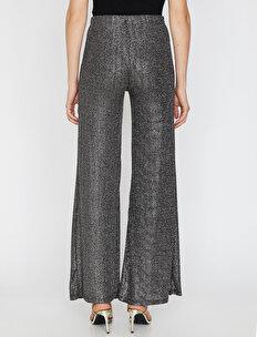 Sim Detaylı Pantolon