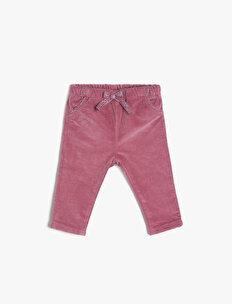 Kurdele Detaylı Pantolon