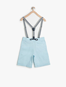 Button Detailed Shorts