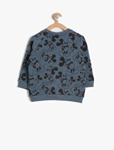 Mickey Patterned Sweatshirt