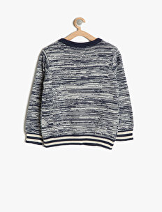 Letter Patterned Jumper