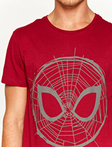 Spiderman Licenced Printed T-Shirt