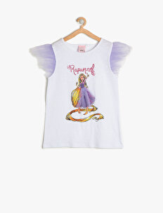 Rapunzel Baskılı T-Shirt