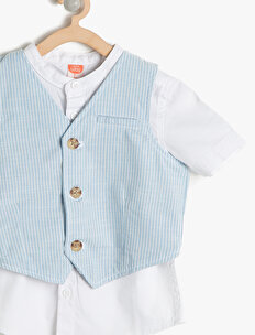 Button Detailed Shirt Sets