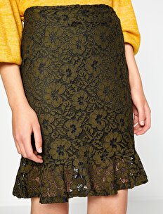 Allover Lace Skirt
