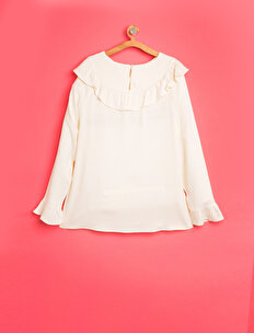 Frill Detailed Blouse