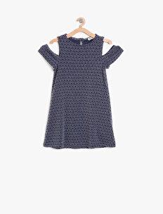 Shoulder Detailed Dress