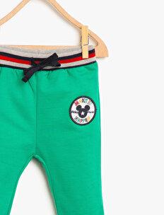 Emblem Detailed Jogging Pants