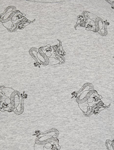 Patterned T-Shirt