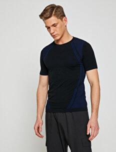 Mesh Detailed T-Shirt