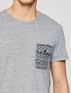 Ethnic Patterned T-Shirt