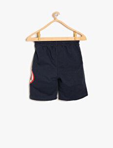 Captain America Licensed Printed Shorts