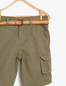 Belt Detailed Shorts