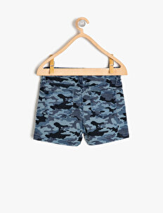 Camouflage Patterned Shorts