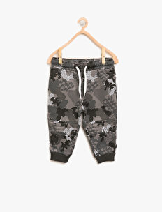 Camouflage Patterned Jogging Pants