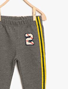 Piping Detailed Joggings Pants
