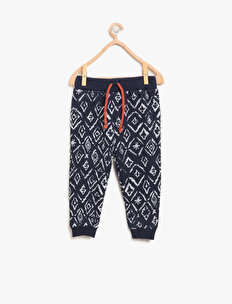 Patterned Jogging Pants