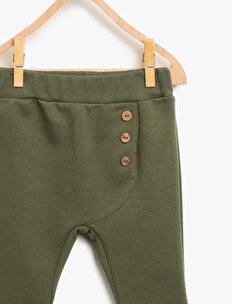 Button Detailed Jogging Pants