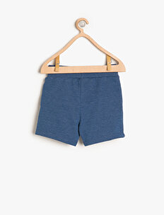 Letter Printed Shorts