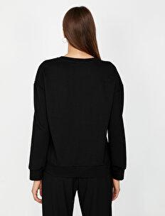 Tül Detaylı Sweatshirt