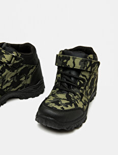 Camouflage Patterned Boots
