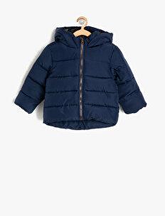 Hooded Puffer Coat