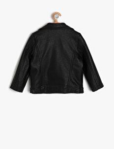 Leather Look Coat