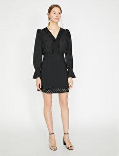 Stud Detailed Dress