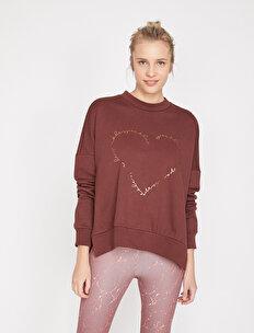 Ebru Şallı Loves Koton Sport  Sweatshirt