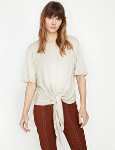 Tie Waist T-Shirt