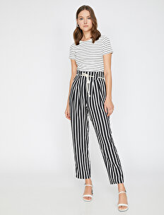 Striped Trousers