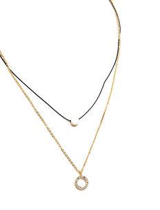 Geometrik Multiple Necklace