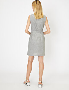 Stone Detailed Dress