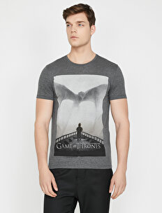 Game Of Thrones Licenced Printed T-Shirt