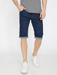 Pocket Detailed Jean Short